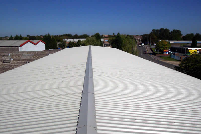 Industrial-roofing