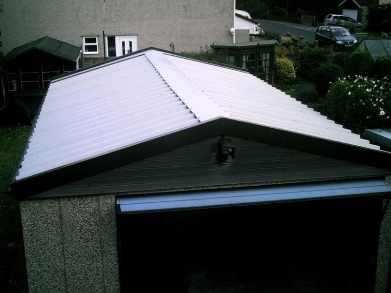 Garage Roof After