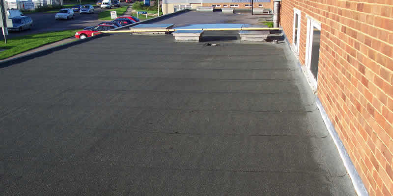 Felt Roofing Before