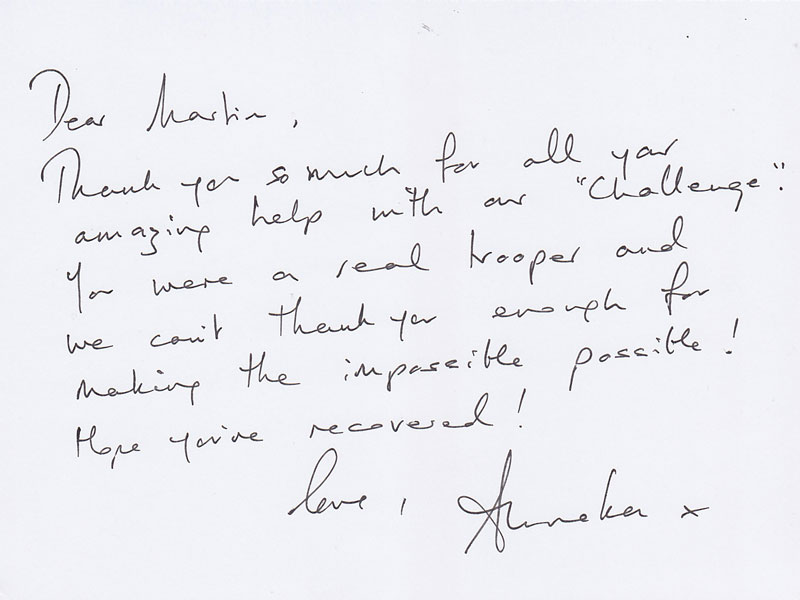 Anneka Letter